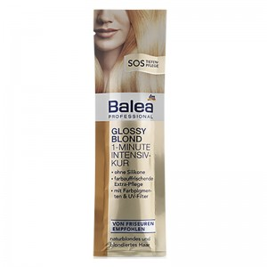 Balea Professional Glossy Blond 1 Minute Intensive Treatment 20 ml