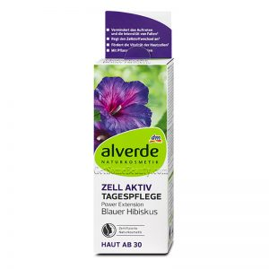 ALVERDE Natural Cosmetics Cell Active Day Cream Blue Hibiscus 50 ml