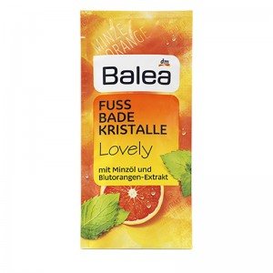 Balea Lovely Foot Bath Crystals 40 g
