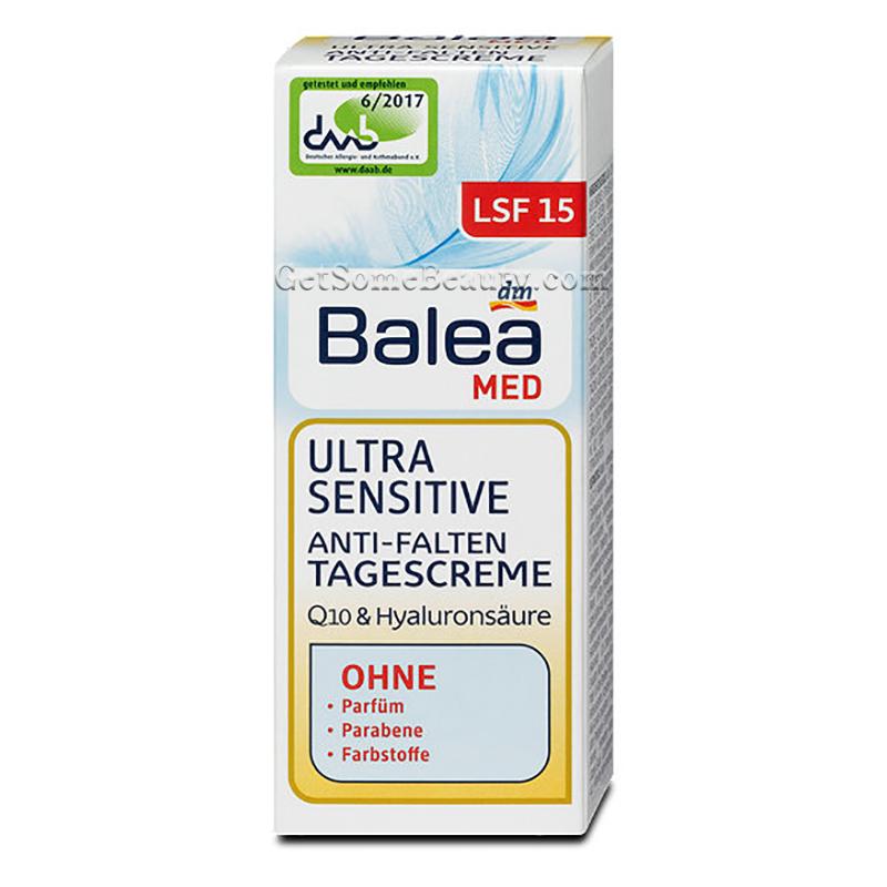 Etwas Neues genug Balea Med Ultra Sensitive Anti-Wrinkle Day Cream 50 ml | Get Some #EB_02