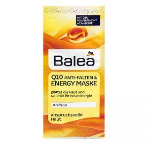 Balea Q10 Anti-Wrinkle & Energy mask 2 x 8 ml