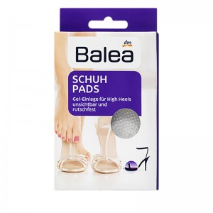 Balea Foot Protection High Heels Gel Pads (Reusable) 1 Pair