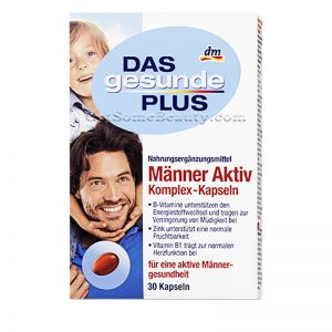 DAS gesunde PLUS Men Active Vitamin Complex 30 Capsules