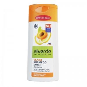 ALVERDE Natural Cosmetics Gloss Shampoo Lemon Apricot 200 ml