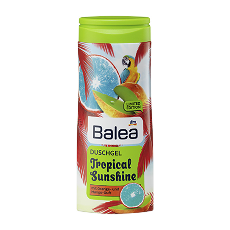 balea tropical sunshine shower gel limited edition 300 ml get some beauty. Black Bedroom Furniture Sets. Home Design Ideas