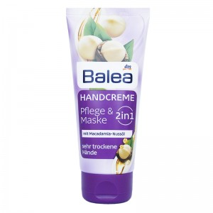 Balea Hand Cream 2-in-1 Care & Mask With Macadamia Nut Oil 100 ml