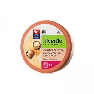 ALVERDE Natural Cosmetics Shea Body Butter Macadamia (mini version) 50 ml