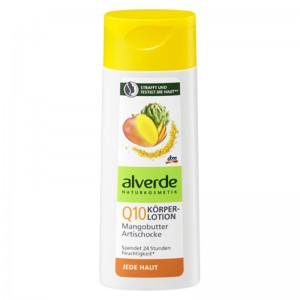 ALVERDE Natural Cosmetics Q10 Body Lotion Mango Butter Artichoke 250 ml