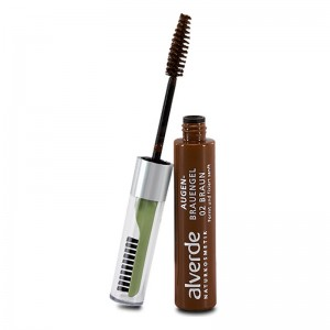 ALVERDE Natural Cosmetics Eyebrow Gel 02 Brown 6 ml