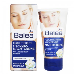 Balea Moisturizing Night Cream Lotus 50 ml