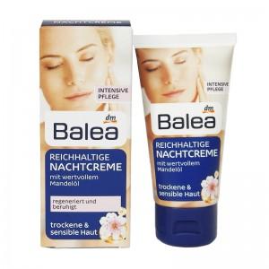 Balea Rich Night Cream 50 ml (Balea Reichhaltige Nachtcreme)