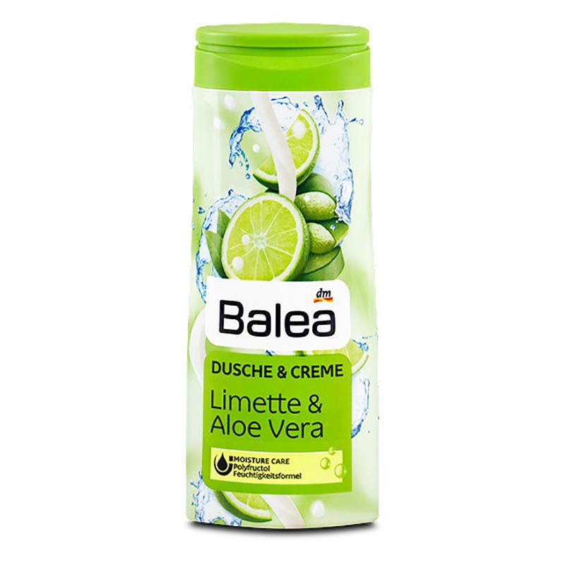 Výsledek obrázku pro sprchový gel balea limette & aloe vera