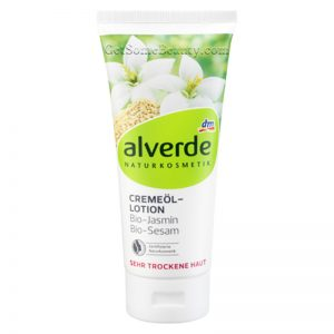 ALVERDE Natural Cosmetics Cream-Oil Lotion With Organic Jasmine And Organic Sesame 200 ml