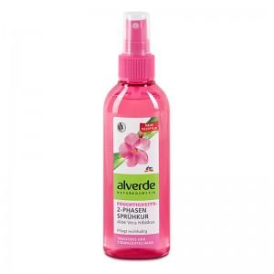 ALVERDE Natural Cosmetics Moisturizing 2-phase Spray Aloe Vera Hibiscus 150 ml