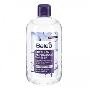 Balea Micellar Cleansing Water Combination And Sensitive Skin 400 ml