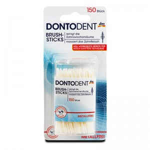 Dontodent Interdental Cleaning Brush-Sticks 150 sticks