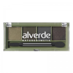 ALVERDE Natural Cosmetics Eyeshadow Quattro №51 Dark Temptation