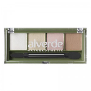 ALVERDE Natural Cosmetics Eyeshadow Quattro №49 Just Nudes
