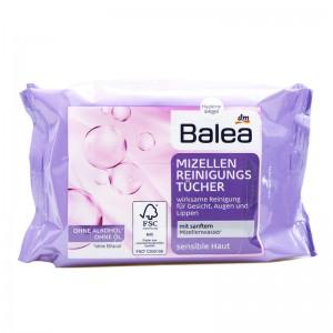 Balea Micellar Wipes Makeup Remover 25 sheets