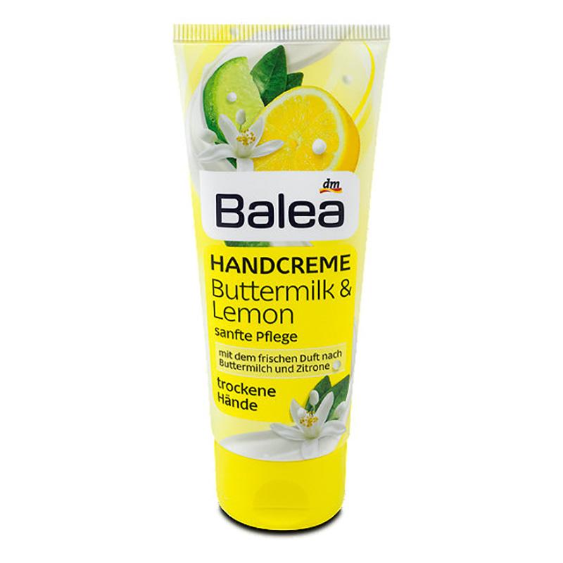 Balea Hand Cream Buttermilk & Lemon 100 ml   Get Some Beauty