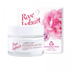 ROSE JOGHURT KARLOVO  Rejuvenating Face Cream With 100% Natural Rose Oil And Rose Water 50 ml