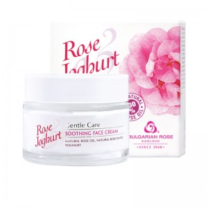 ROSE JOGHURT KARLOVO Soothing Face Cream With 100% Natural Rose Oil And Rose Water 50 ml