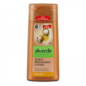 ALVERDE Natural Cosmetics Self Tanning Lotion 200 ml