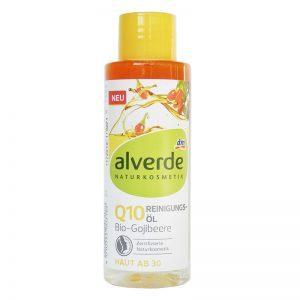 ALVERDE Natural Cosmetics Cleansing Oil Q10 Organic Goji Berry 100 ml