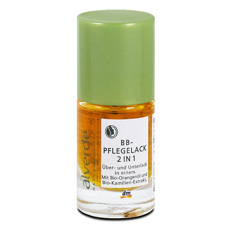 ALVERDE Natural Cosmetics BB Nail Care Polish 2-in-1 10 Ml