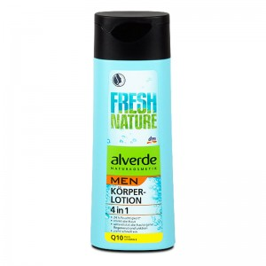 ALVERDE Natural Cosmetics MEN Fresh Nature Q10 Body Lotion 250 ml