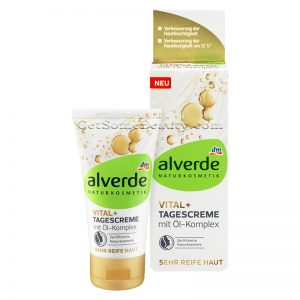 ALVERDE Natural Cosmetics Vital+ Day Cream With Oil Complex 50 ml
