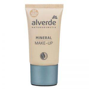 ALVERDE Natural Cosmetics Mineral Makeup 07 Golden Honey 30 ml