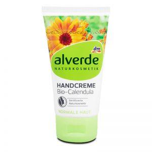ALVERDE Natural Cosmetics Hand Cream Organic Calendula 75 ml