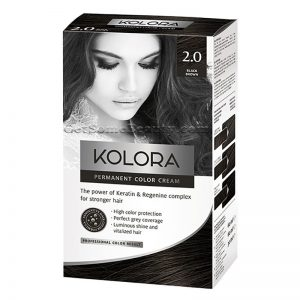 KOLORA Permanent Hair Dye 2.0 Black Brown