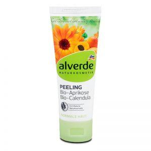 ALVERDE Natural Cosmetics Peeling Organic Apricot Organic Calendula 75 ml
