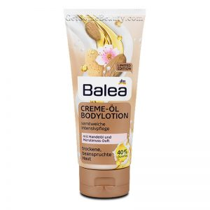 Balea Balea Cream-Oil Body Lotion Velvety-Soft Intensive Care 200 ml