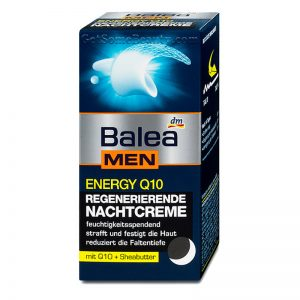 Balea MEN Energy Q10 Regenerating Night Cream 50 ml