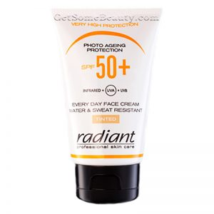 Radiant Professional Skin Care Photo Ageing Protection SPF 50 Tinted 50 ml
