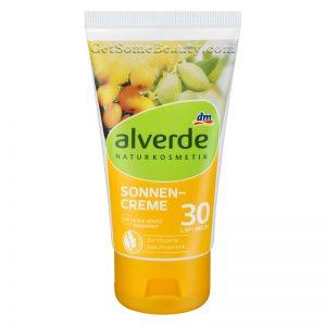 ALVERDE Natural Cosmetics Sunscreen Cream SPF 30 75 ml