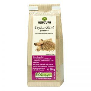 Alnatura Organic Ground Ceylon Cinnamon 50 g