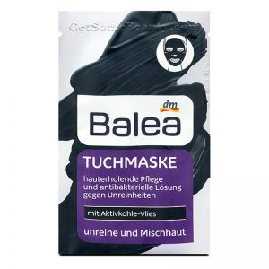Balea Cloth Mask With Activated Carbon