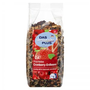 DAS gesunde PLUS Cranberry Strawberry Fruit Tea 200 g