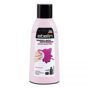 Ebelin Nail Polish Remover Acetone-Free With Almond Scent 200 ml