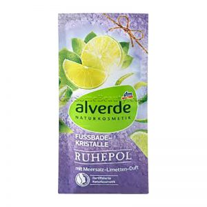 ALVERDE Natural Cosmetics Foot Bath Crystals Oasis of Calm 40 g