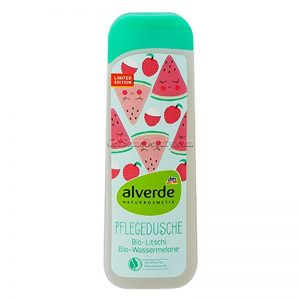 ALVERDE Natural Cosmetics Shower Gel Organic Lychee & Watermelon 200 ml