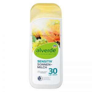ALVERDE Natural Cosmetics Sunscreen Lotion Sensitive SPF 30 200 ml