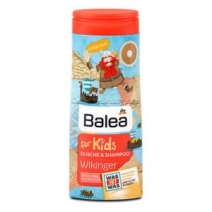Balea Kids Shower Gel And Shampoo Viking 300 ml