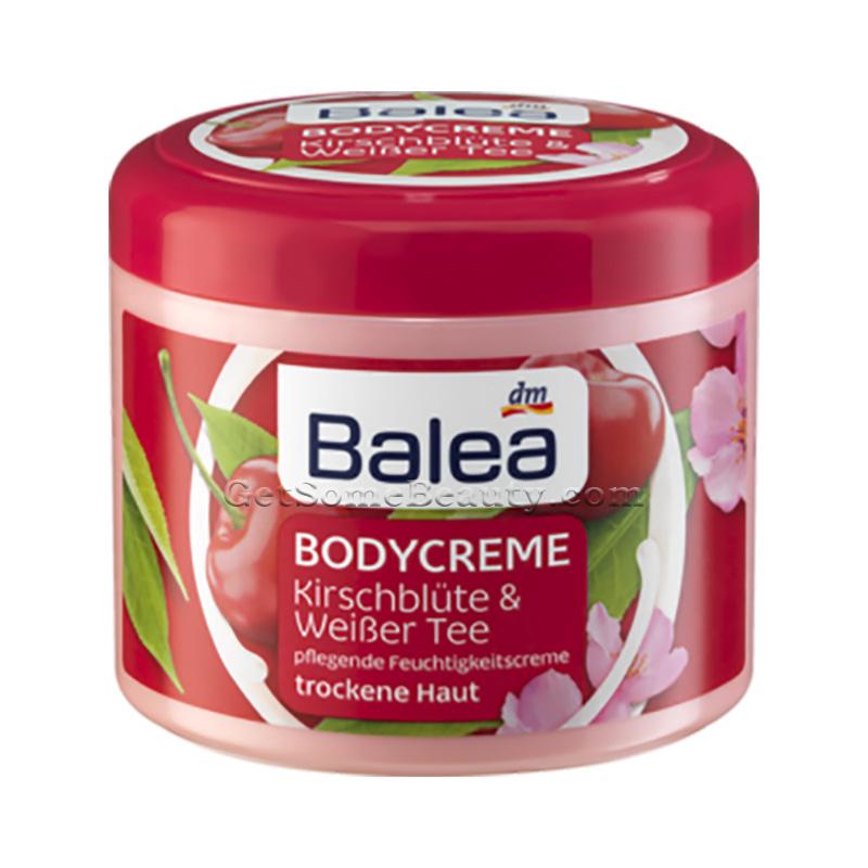 balea body cream cherry blossom white tea 500 ml get some beauty. Black Bedroom Furniture Sets. Home Design Ideas