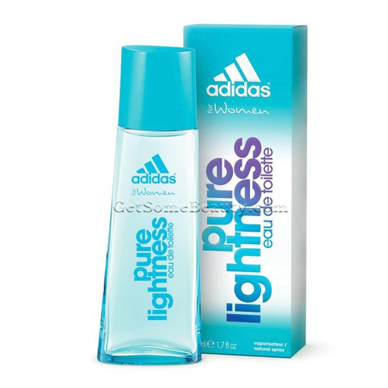 nuevo lanzamiento descuento especial de los recién llegados Adidas Pure Lightness Eau de Toilette For Women 50 ml | Get Some ...